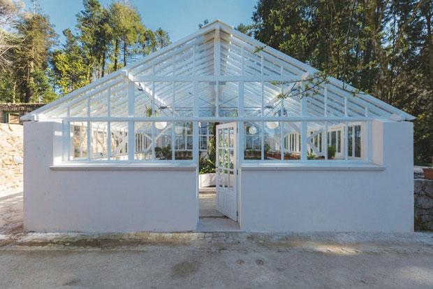 Conclu do o projeto de recupera o das estufas da quinta for Estufas de jardin