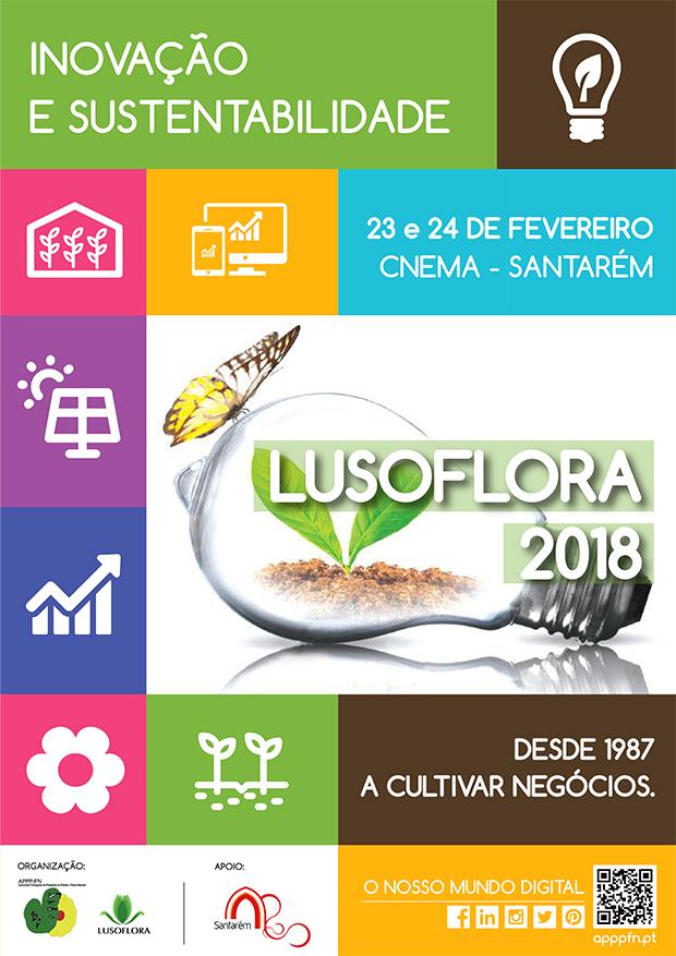 Cartaz Lusoflora 2018