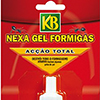 Anti -formigas Armadilhas isco e Nexa Gel da KB