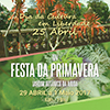 Dia de Cultura em Liberdade e XIV Festa da Primavera no JBA