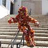 Festa das Flores chega ao Porto com o Flowerman