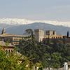 "La Alhambra; ""A Vermelha"" e Generalife"