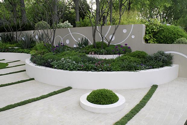 As formas de um jardim portal do for Pavimentos de jardin