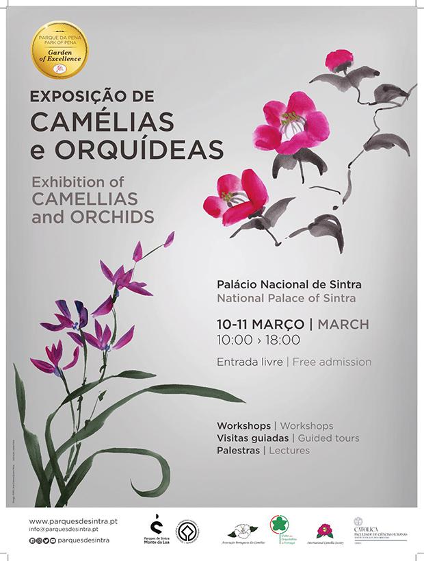 Exposicao Camelias e Orquideas 2018