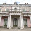 Obras de recuperação do Pavilhão Robillion no Palácio Nacional de Queluz