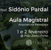 Aula Magistral de Arquitetura Paisagista leccionada pelo Professor Sidónio Pardal organizada pela Planear