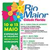 Rio Maior cidade florida de 10 a 13 de maio