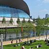 Parque Olímpico Queen Elizabeth II, o mais recente grande parque urbano de Londres