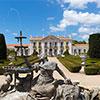 Palácio Nacional de Queluz volta a ser azul: fachadas, cantarias, vãos e coberturas recuperados