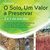 "Colóquio ""O solo um Recurso Natural a Preservar"" nos dias 2 e 3 de Outubro no Funchal."