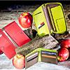 Cartune vende produtos reciclados feitos a partir de casca de maçã
