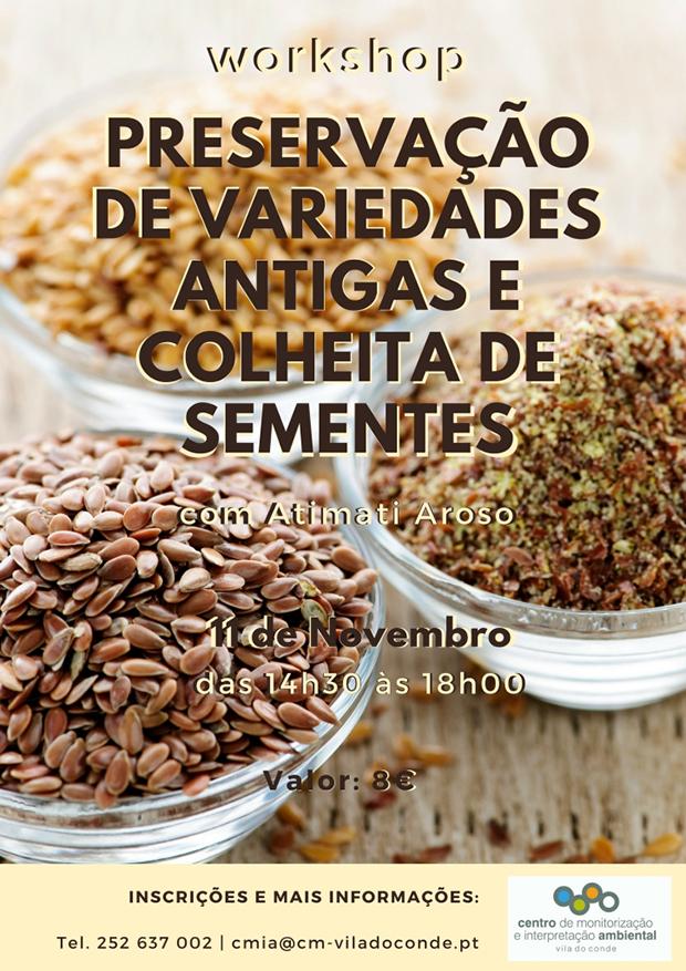 Workshop de Preservação de Variedades Antigas e Colheita de Sementes