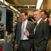 Ministro Guttenberg visita STIHL